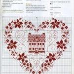 Etamin Şablonları Kalp Desenleri 43