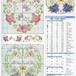 Etamin Şablonları Kalp Desenleri 44