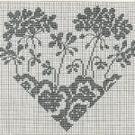 Etamin Şablonları Kalp Desenleri 47