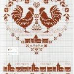 Etamin Şablonları Kalp Desenleri 51