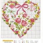 Etamin Şablonları Kalp Desenleri 53