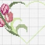 Etamin Şablonları Kalp Desenleri 69