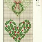 Etamin Şablonları Kalp Desenleri 78