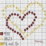 Etamin Şablonları Kalp Desenleri 81