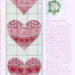 Etamin Şablonları Kalp Desenleri 82