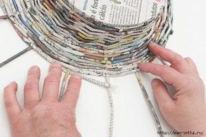 Gazeteden Sepet Yapımı 27