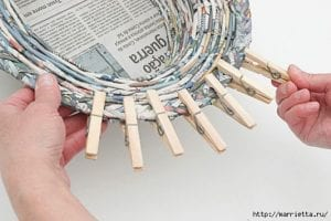 Gazeteden Sepet Yapımı 34