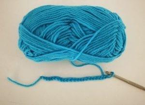 Kolay Renkli Çizgili Battaniye Yapılışı 7
