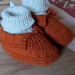 Kolay Tığ İşi Bebek Patik Örnekleri 14