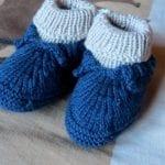 Kolay Tığ İşi Bebek Patik Örnekleri 15