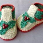 Kolay Tığ İşi Bebek Patik Örnekleri 26