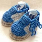 Kolay Tığ İşi Bebek Patik Örnekleri 54