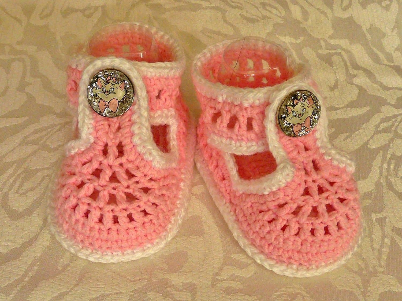 Tığ İşi Bebek Patik Örnekleri