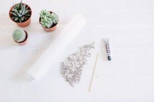 Kristal Taşlı Küpe Nasıl Yapılır?