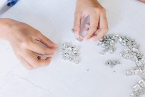 Kristal Taşlı Küpe Nasıl Yapılır? 3