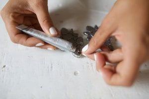 Kristal Taşlı Küpe Nasıl Yapılır? 5