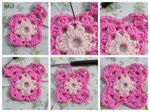 Küpe Çiçeği Motifli Battaniye Nasıl Yapılır? 1