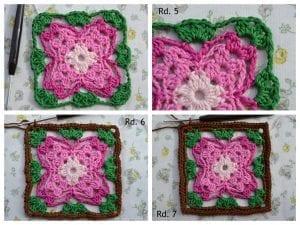 Küpe Çiçeği Motifli Battaniye Nasıl Yapılır? 3