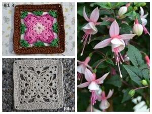 Küpe Çiçeği Motifli Battaniye Nasıl Yapılır? 4
