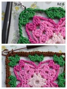 Küpe Çiçeği Motifli Battaniye Nasıl Yapılır? 6