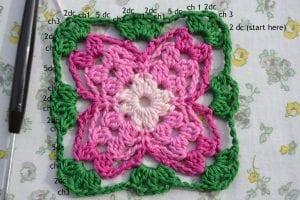 Küpe Çiçeği Motifli Battaniye Nasıl Yapılır? 8