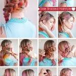Örgü Saç Modelleri ve Yapılışları 16