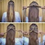 Örgü Saç Modelleri ve Yapılışları 4