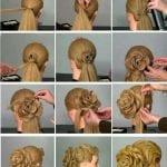 Örgü Saç Modelleri ve Yapılışları 58