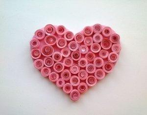 Quilling Kalp Magnet Nasıl Yapılır? 15