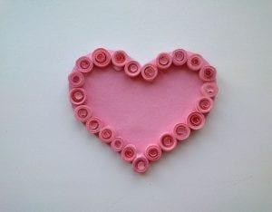 Quilling Kalp Magnet Nasıl Yapılır?