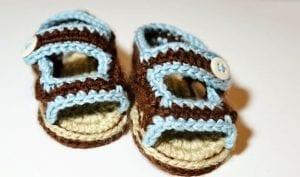 Sandalet Bebek Patiği Yapılışı 10