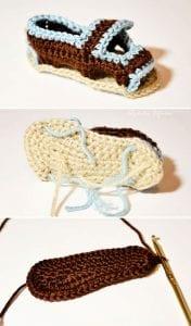 Sandalet Bebek Patiği Yapılışı 1