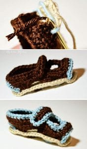 Sandalet Bebek Patiği Yapılışı 2