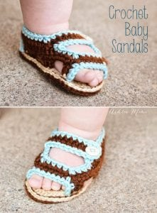 Sandalet Bebek Patiği Yapılışı 6
