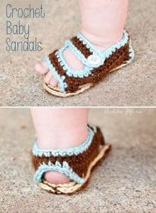 Sandalet Bebek Patiği Yapılışı 7