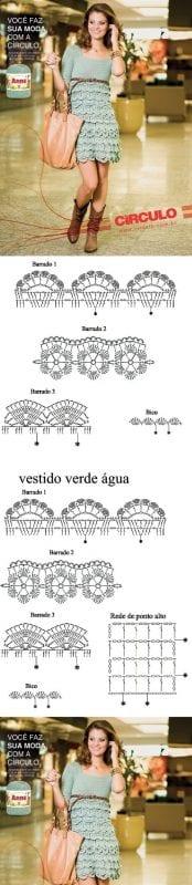 Şemalı Dantel Örnekleri ve Modelleri 53