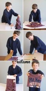 Videolu, Kartondan Elbise Katlama Nasıl Yapılır? 2