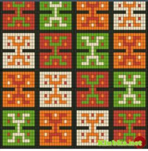 Wayuu Çanta Şemaları 10