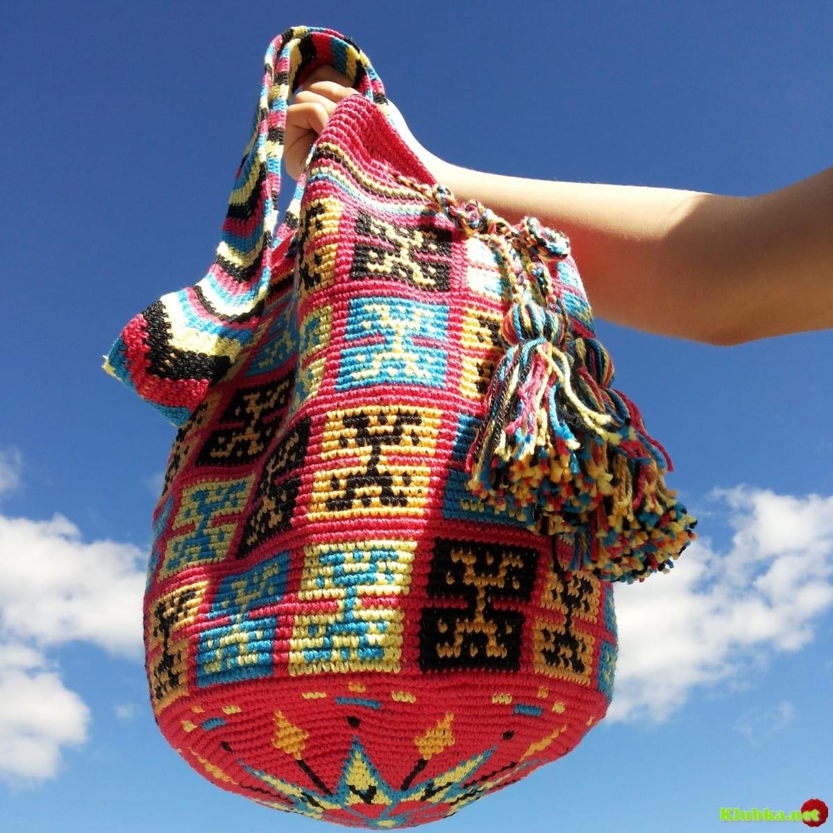 Wayuu Çanta modelleri ve yapımı