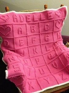 ABC Alfabe Bebek Battaniyesi Yapılışı
