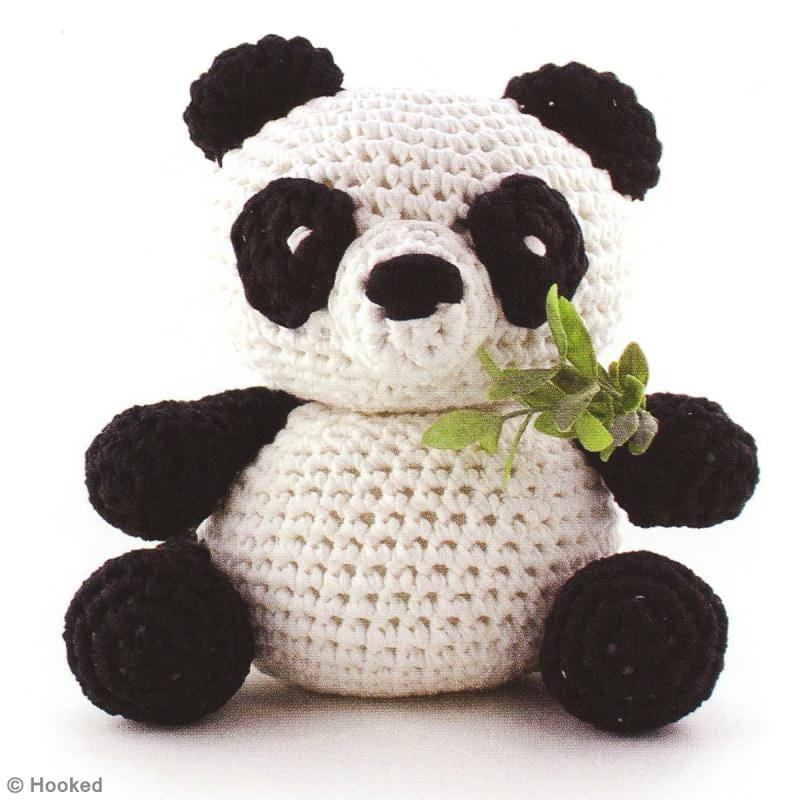 Amigurumi Saclari Yapimi : Amigurumi Panda Yapimi - Mimuu.com