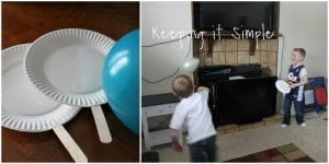 Balon Pin Pon Oyunu Yapılışı