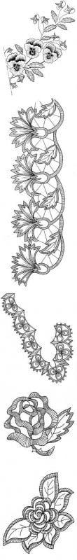 Dantel Angles Desenleri 20
