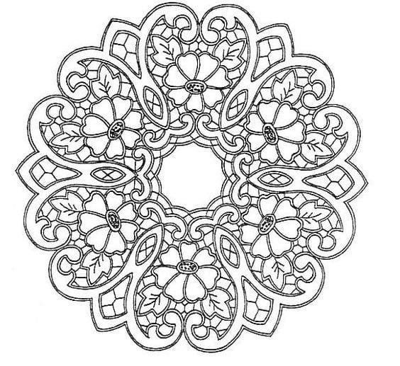 Dantel Angles Desenleri 25