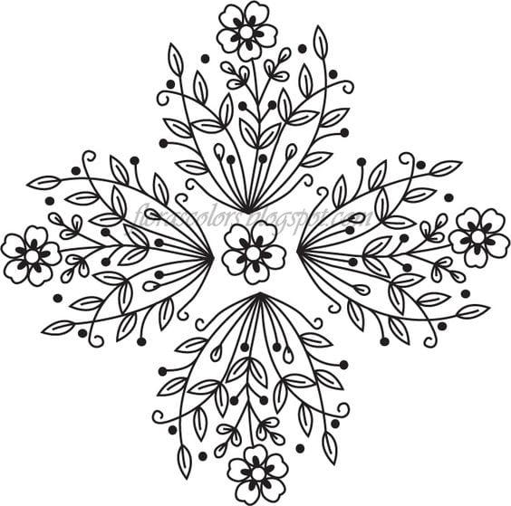 Dantel Angles Desenleri 34