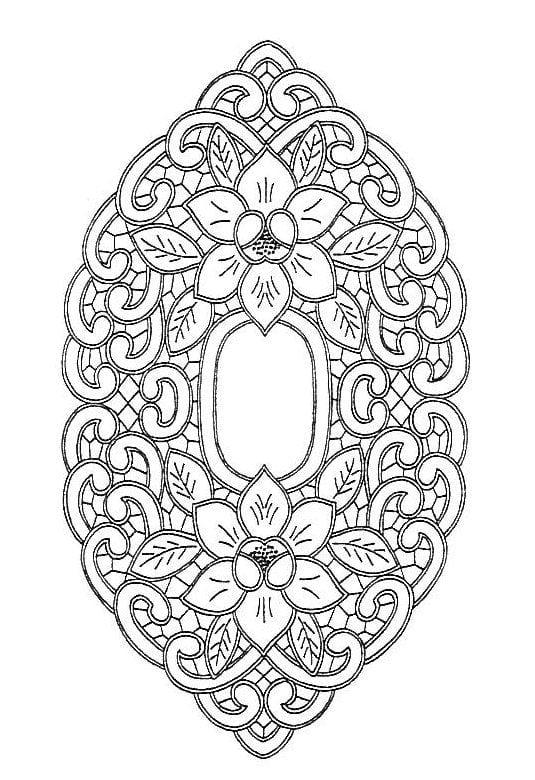 Dantel Angles Desenleri 36