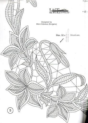 Dantel Angles Desenleri 8