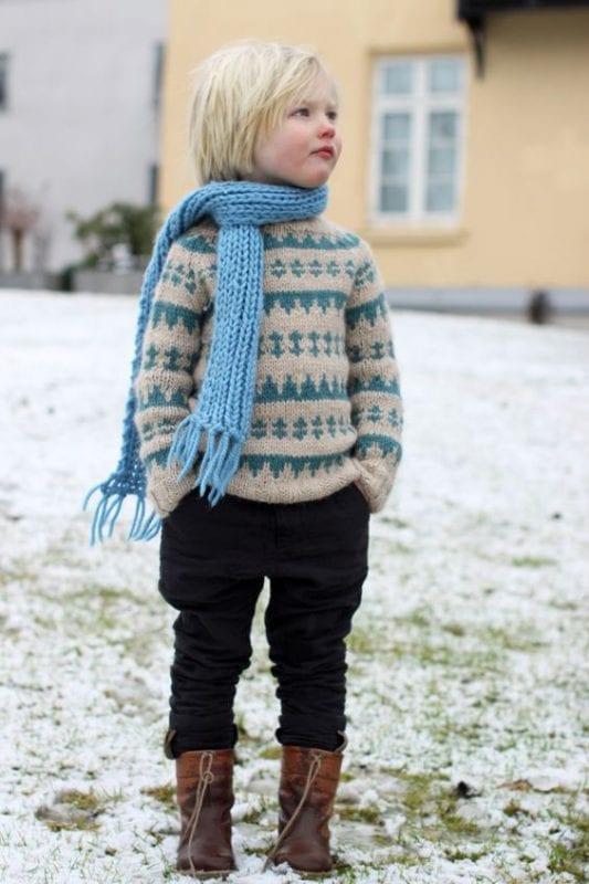 Erkek Çocuğu Kazak Modelleri 19