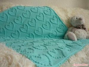 Popcorn Kalp ve Yıldız Battaniye Yapımı