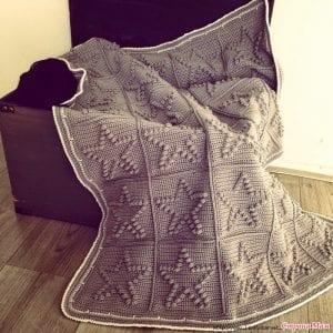 Popcorn Kalp ve Yıldız Battaniye Yapımı 3